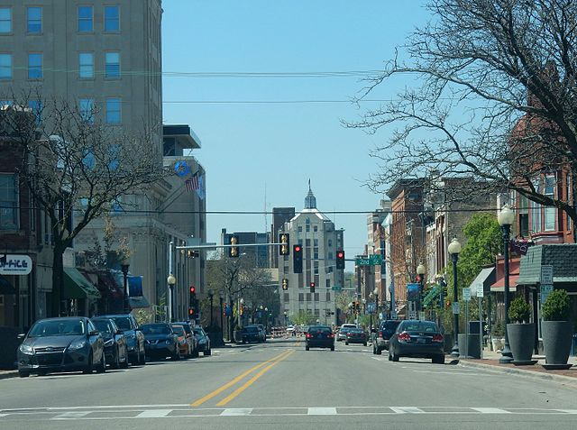 Down Town Rockford, Illinois