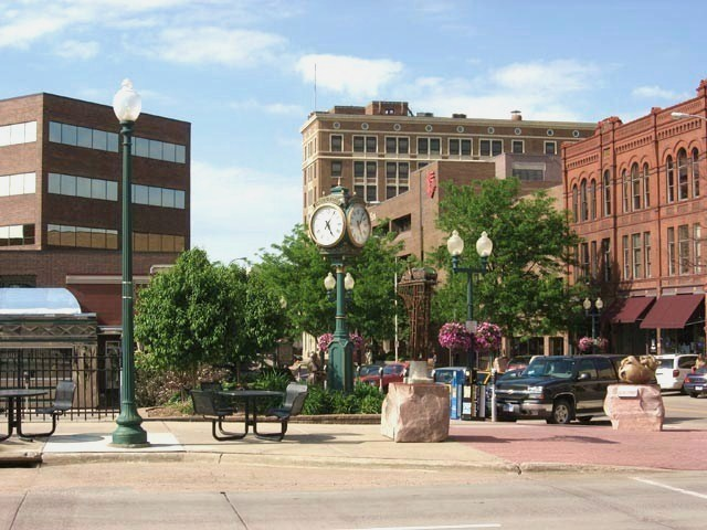 Down Town Sioux Falls, South Dakota